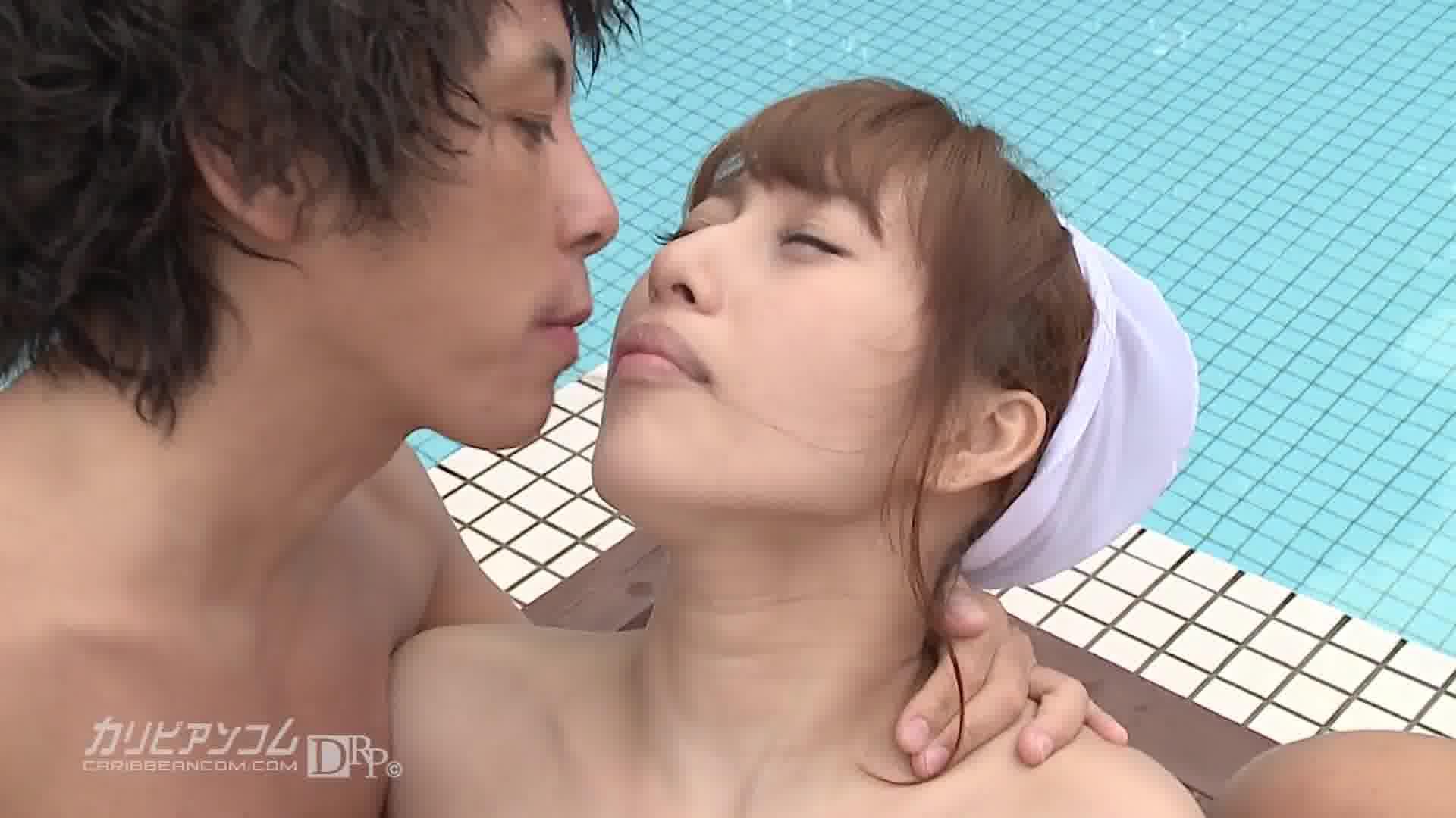 全裸de登校日 Part.2 - 薫ひな【乱交・水着・野外露出】