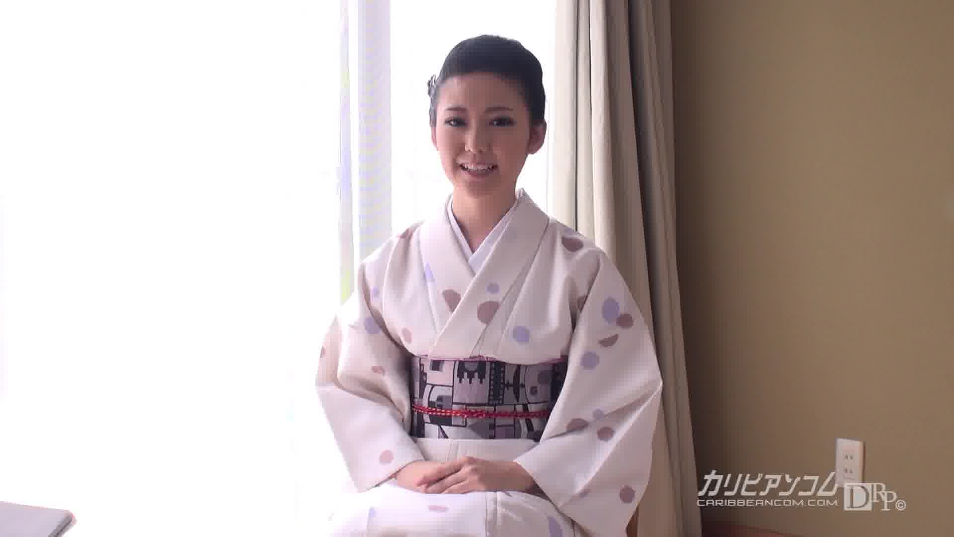 若女将のおもてなし ~Youはナニしに日本へ来たのでしょ~ - 渡辺結衣【美乳・オナニー・浴衣】