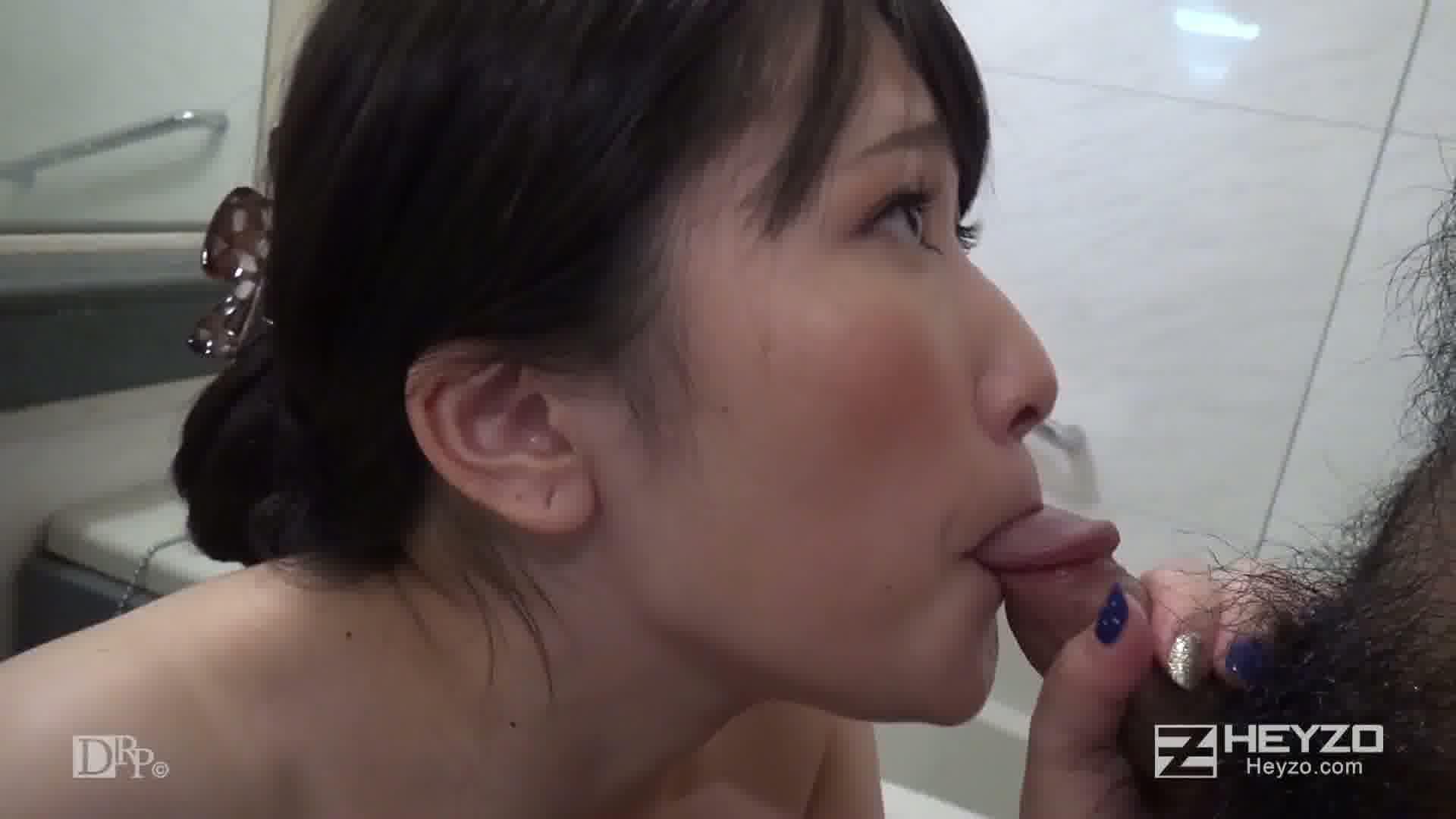 即撮影!AV面接2 後編 - 境田美波【シャワー フェラ】