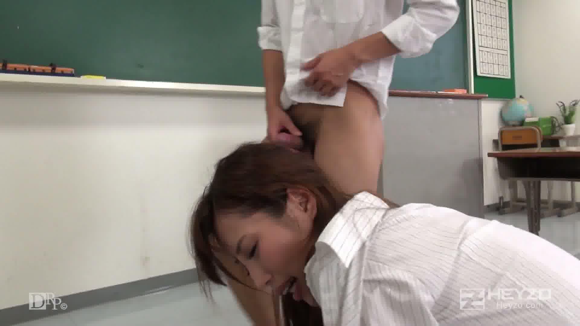 淫楽に沈む教師~新任教師の初授業~ - 瞳ゆら【背面座位 立ちバック 騎乗位 側位】
