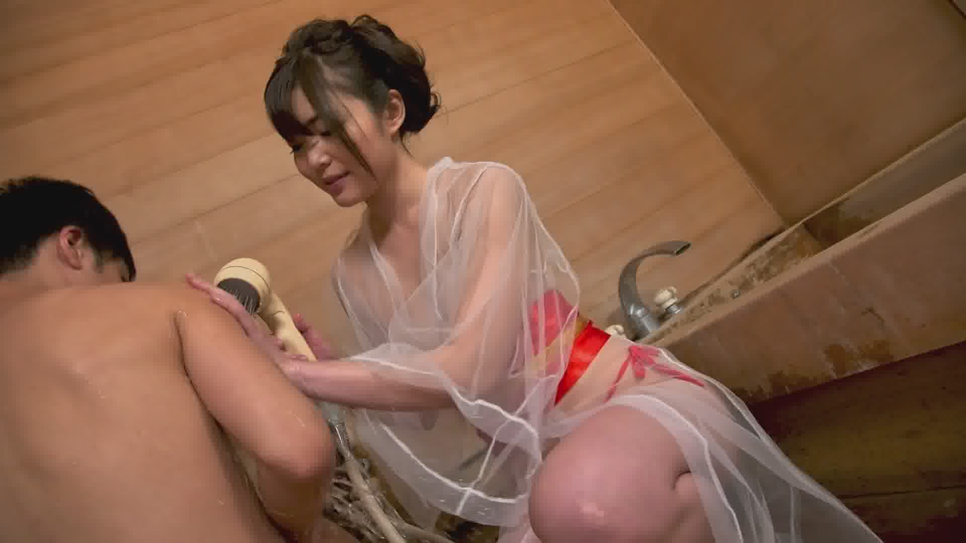 洗練された大人のいやし亭 ~いやらしい舌遣いで舐めさせてくださいませ~ - 碧しの【痴女・浴衣・スレンダー】