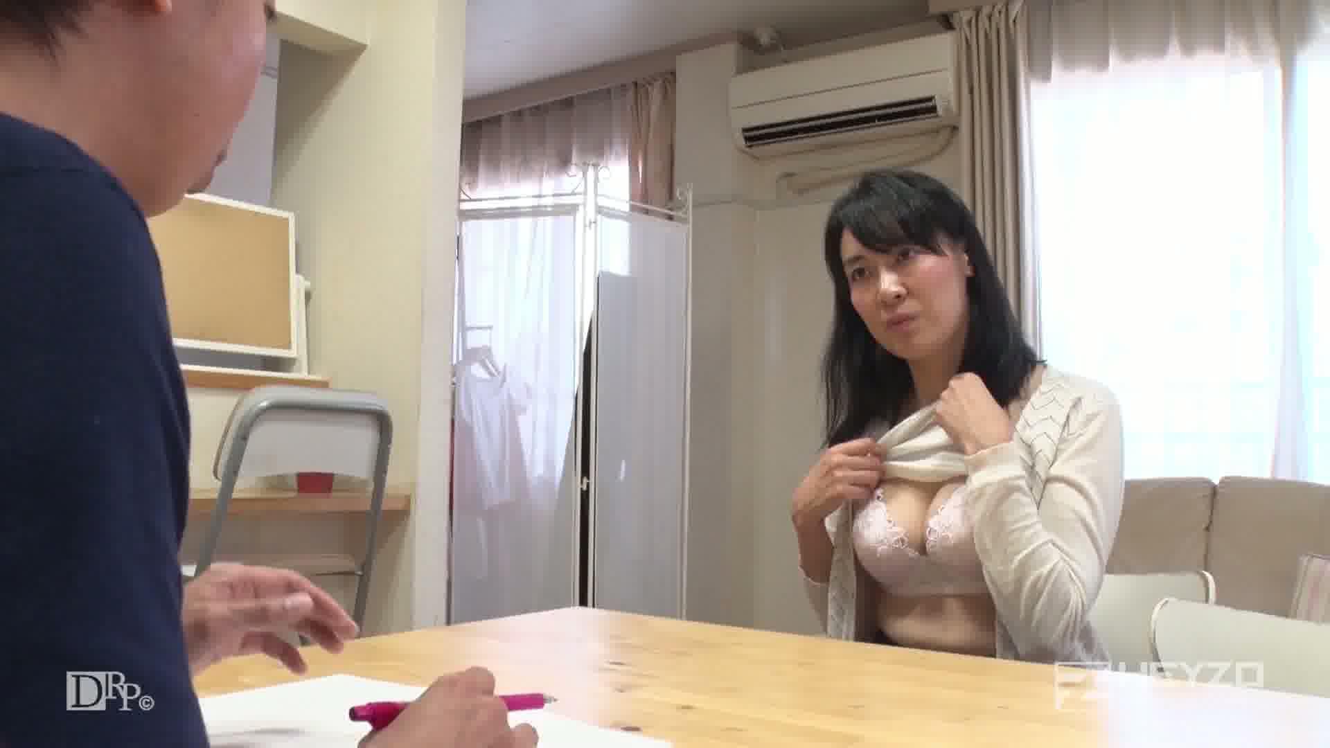 バツイチ独身女がAV出演に応募してきた件 - 高石おりえ【絡み キス】