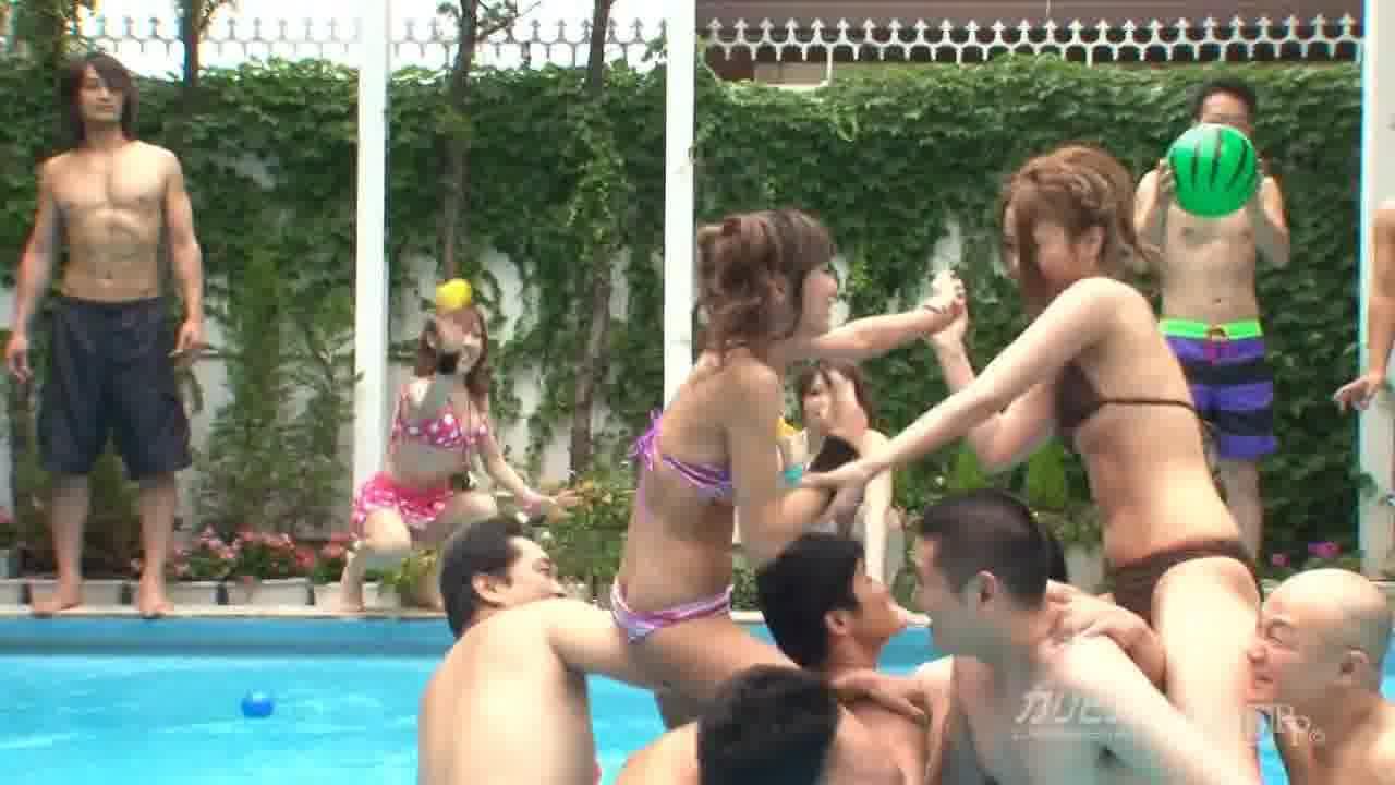 サマーガールズ2011 Vol.1 - 米倉真央【水着・乱交・野外露出】