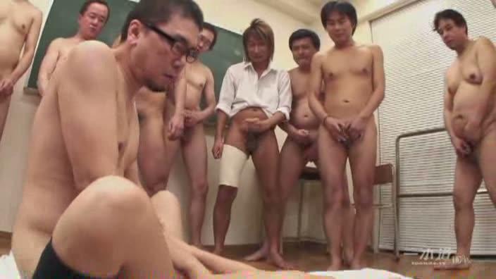 極射7 〜10人連続ぶっかけ10人連続中出し〜【朝倉ことみ】
