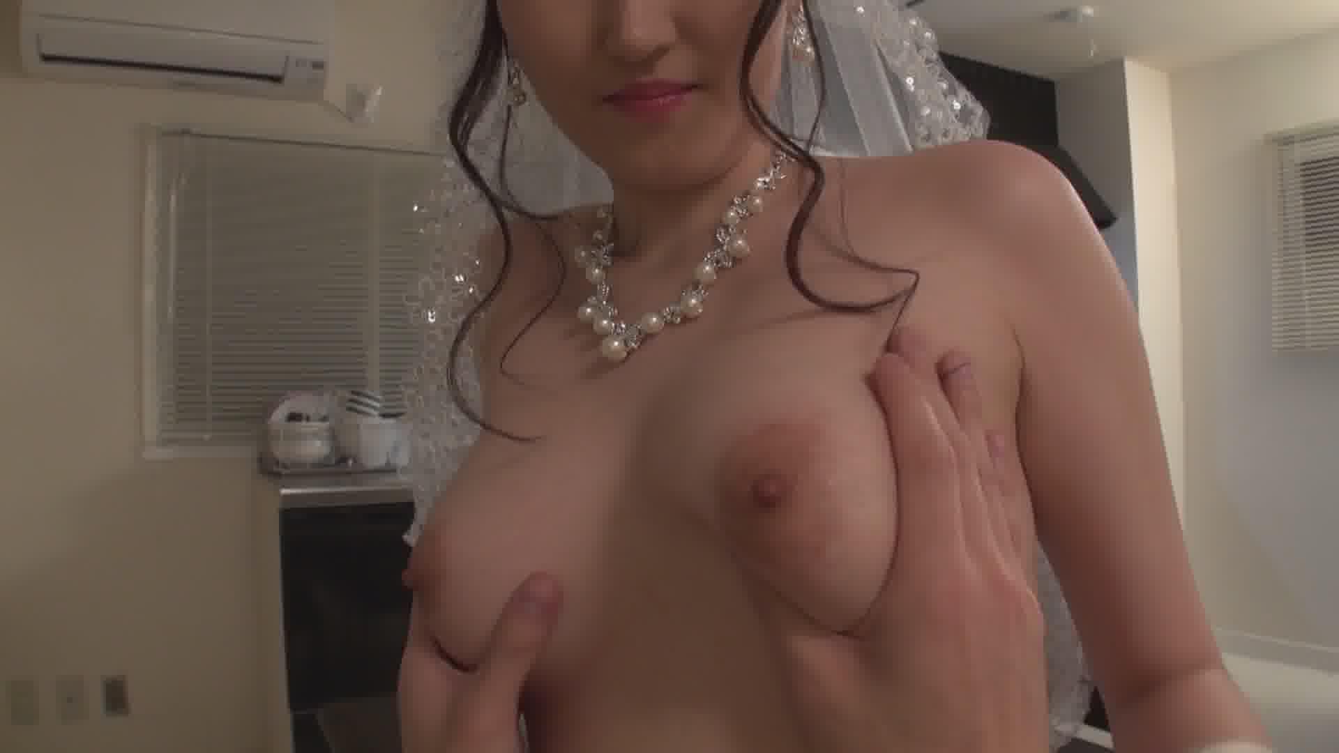 美月アンジェリアがぼくのお嫁さん ~ウェディングドレスに透けた美乳~ - 美月アンジェリア【巨乳・パイズリ・中出し】