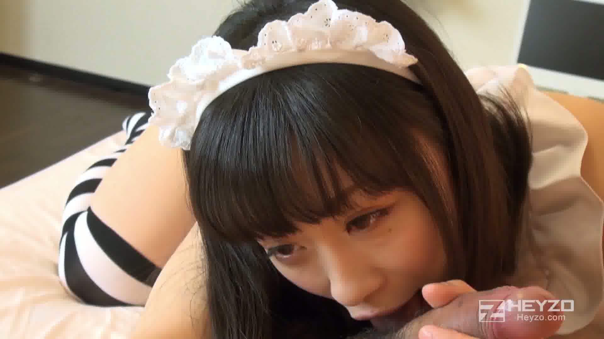 童顔メイドの秘密のご奉仕 - 京野結衣【フェラ 指まん 騎乗位】