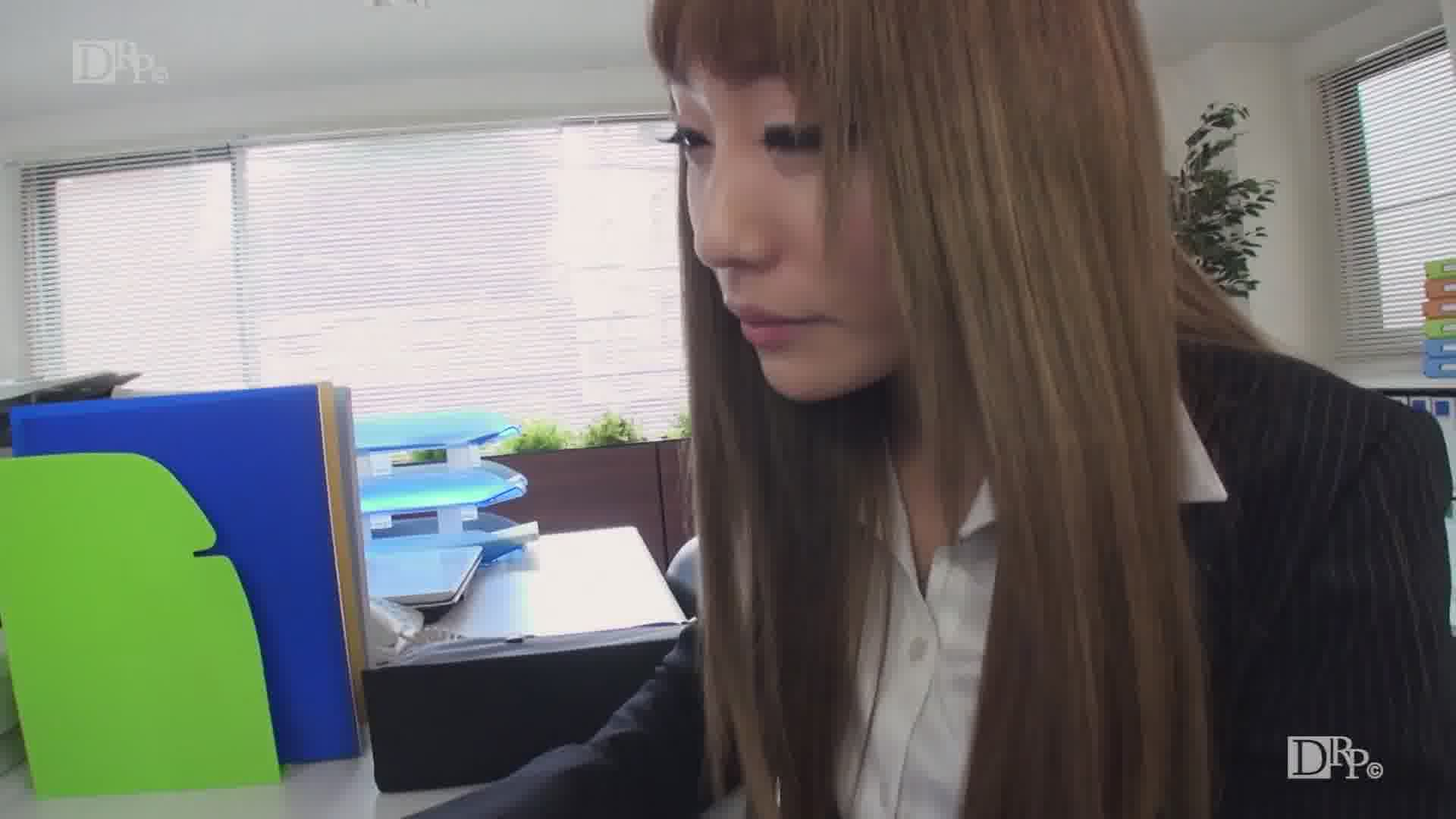 OLの尻に埋もれたい Vol.8 - 真白愛梨【ギャル・パイパン・OL】