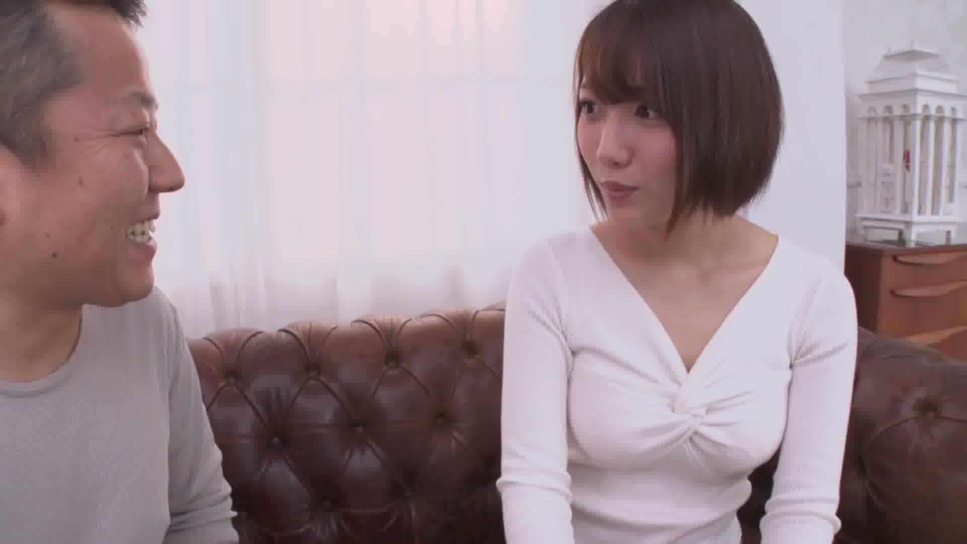 絶対に妊娠したくない清楚系女子VS中出ししかしないおじさん - 菊川みつ葉【パイパン・パイズリ・中出し】