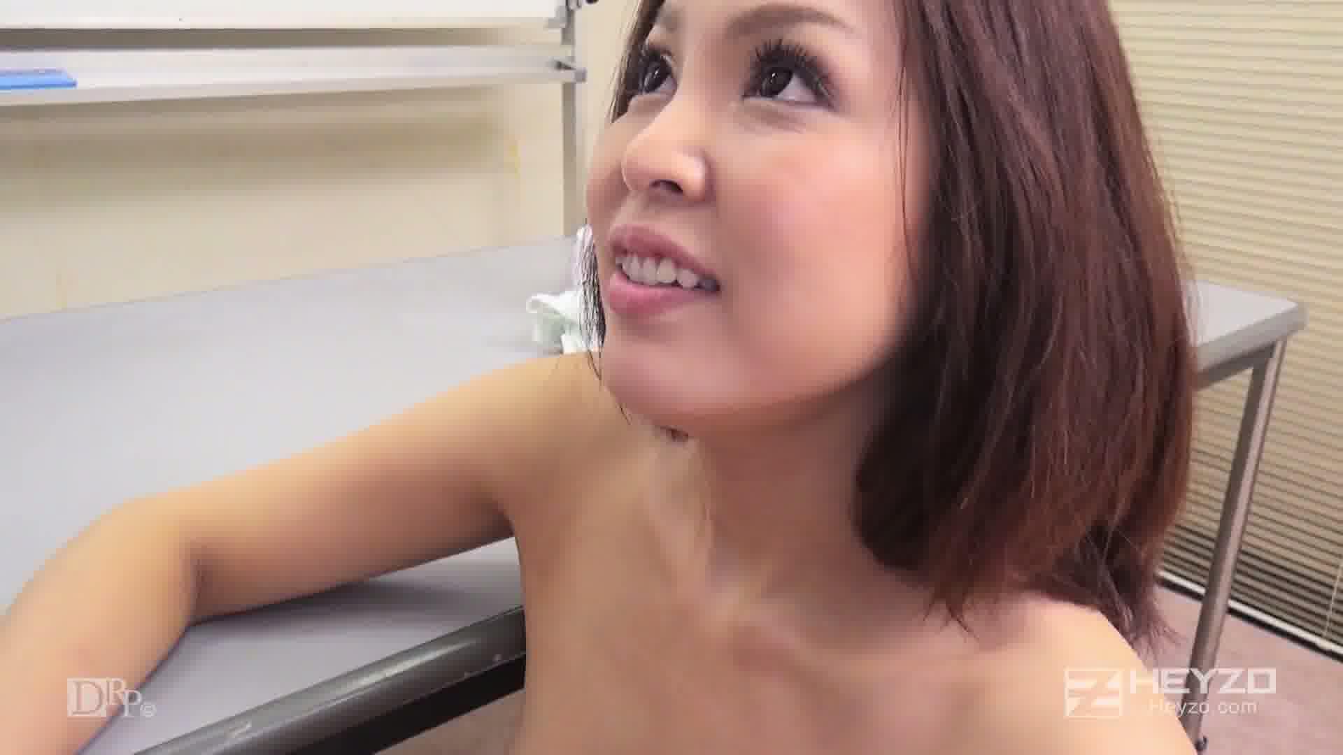 美人英語講師のイヤらしい舌使い - 西野エリカ【背面騎乗位 正常位 中出し オナニー】