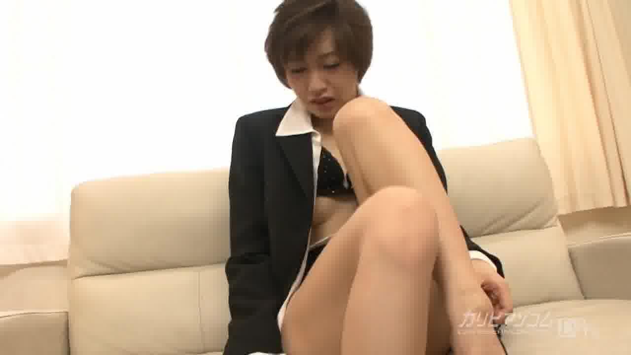 社長と明奈② - 原明奈【スレンダー・潮吹き・中出し】