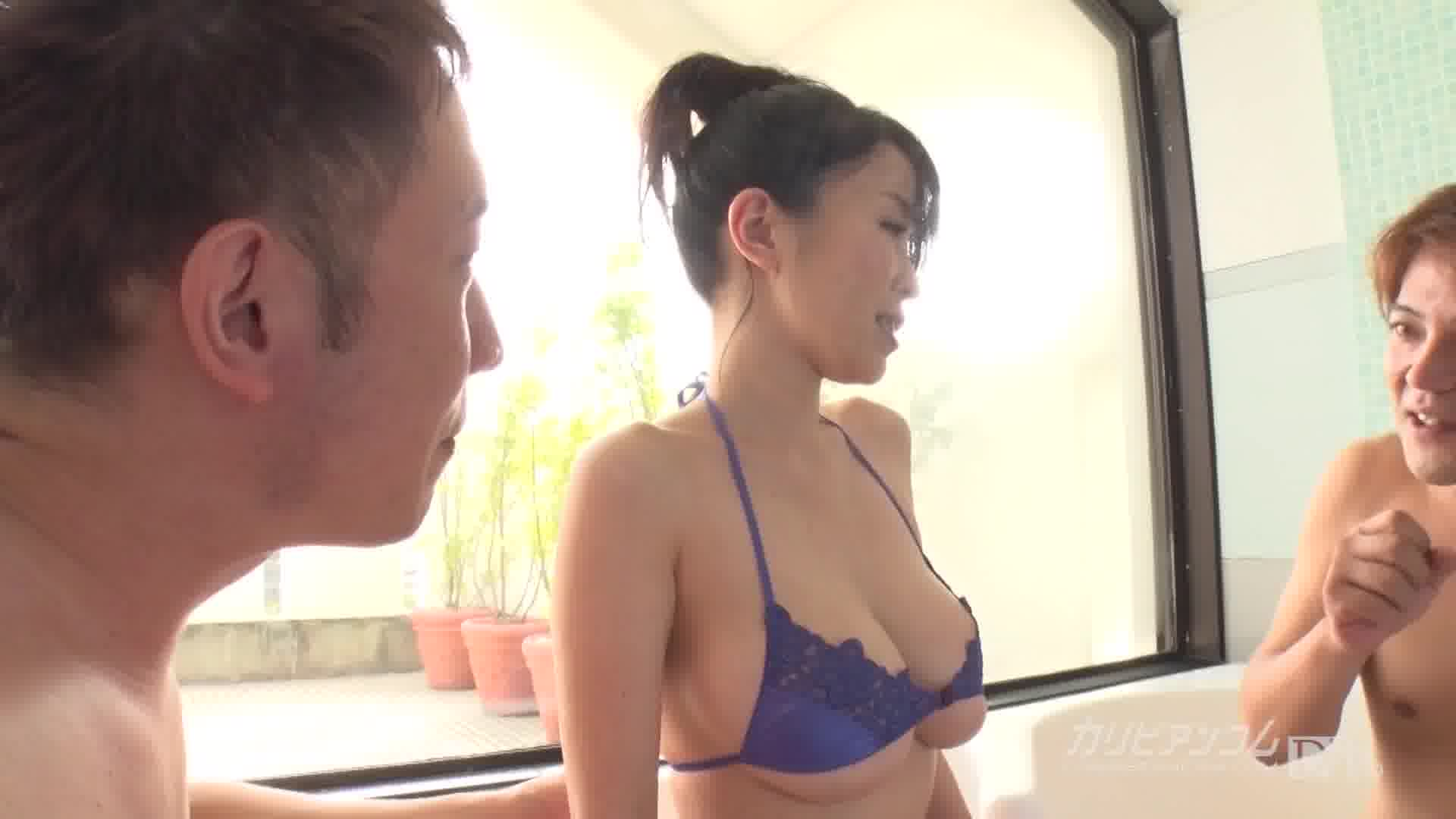 好色妻降臨 49 パート 2 - 里中結衣【巨乳・パイズリ・3P】