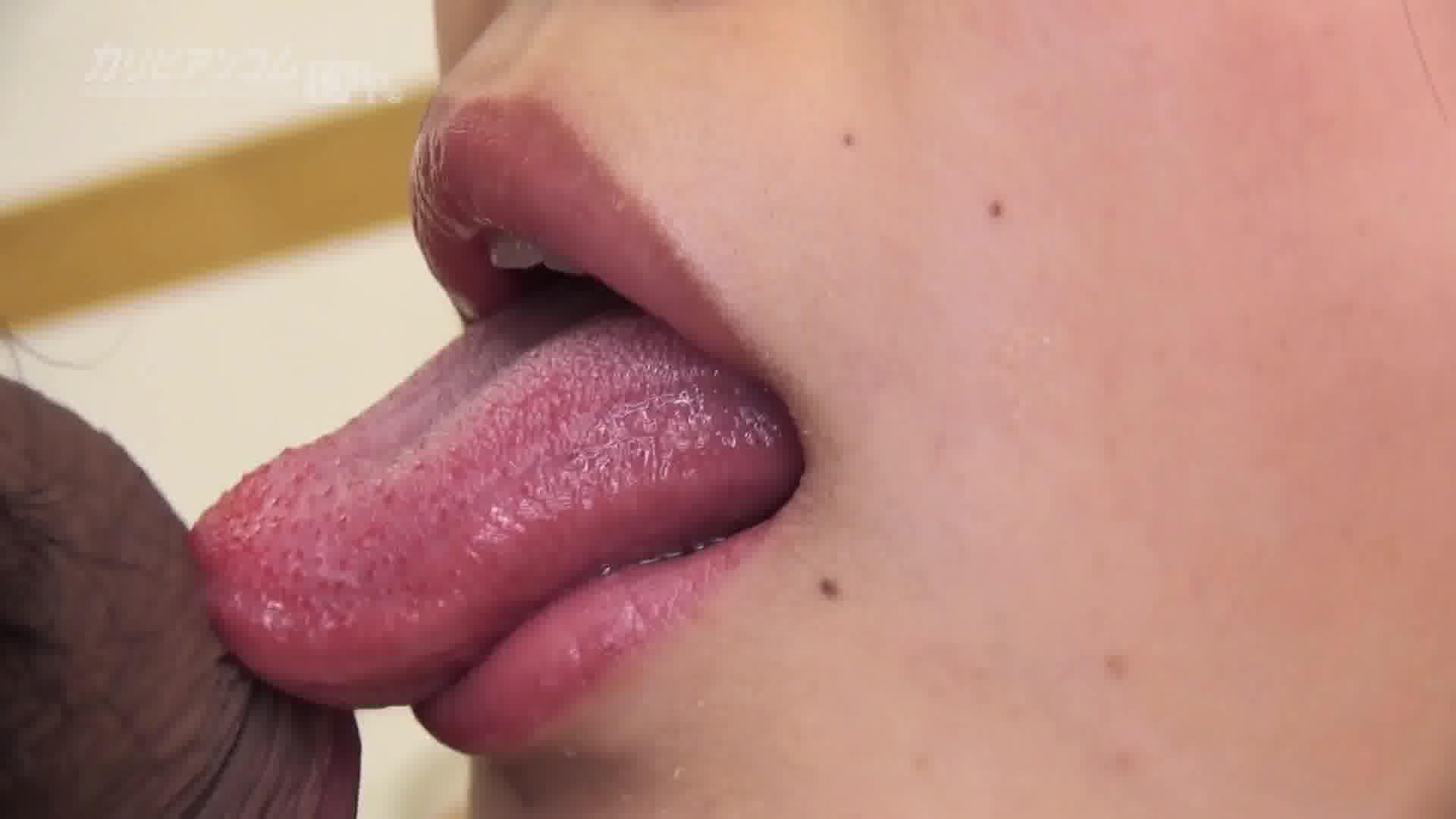 THE 未公開 ~口をマンコに見立てて卑猥にチンコを出し入れマウスセックス~ - 大家あみ【パイパン・イラマチオ・口内発射】