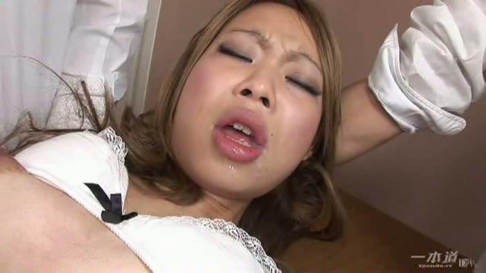 テニス部 〜フォアハンド剃毛・スピンザーメン〜【上原レミカ】