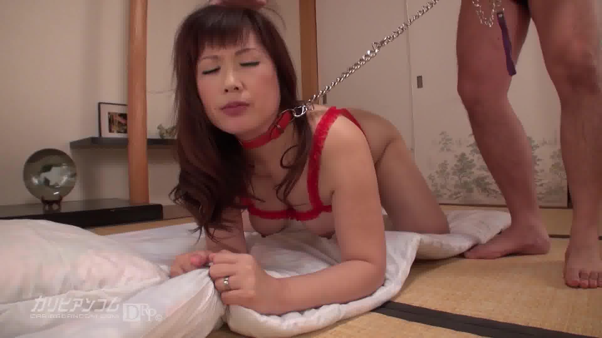 拘束熟女 - 志村玲子【巨乳・イラマチオ・中出し】