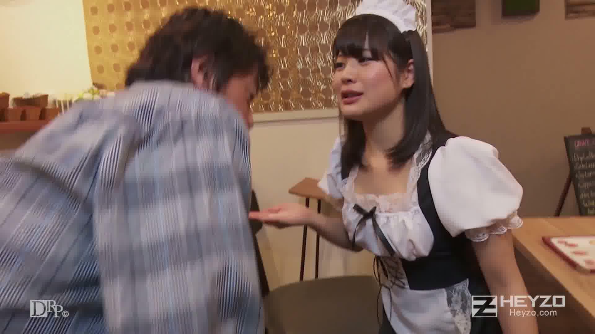 究極ご奉仕のメイドカフェ~気持ちイイですか、ご主人様?~ - 水谷あおい【フェラ抜き】