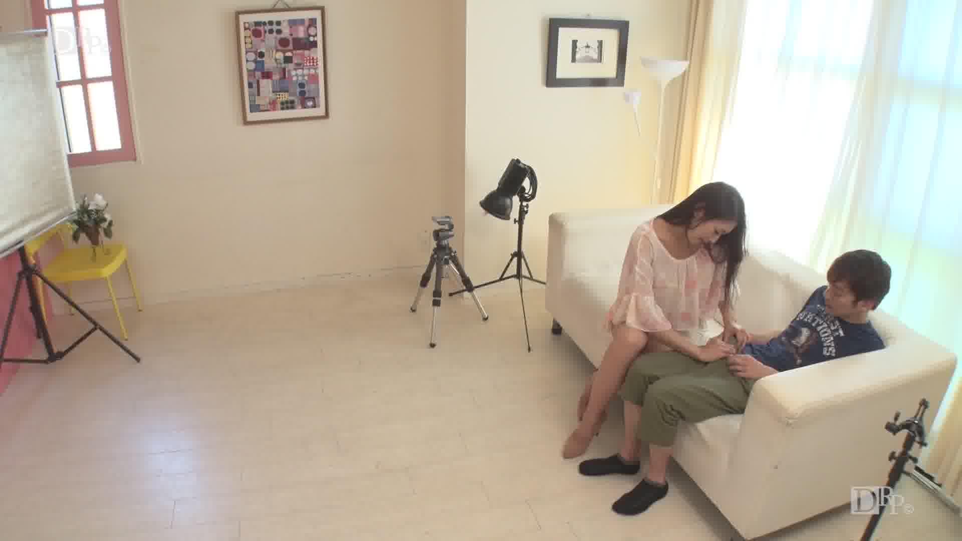 撮影だけじゃ満足できない筋金入りのドスケベ女 - 小早川怜子【痴女・巨乳・3P】