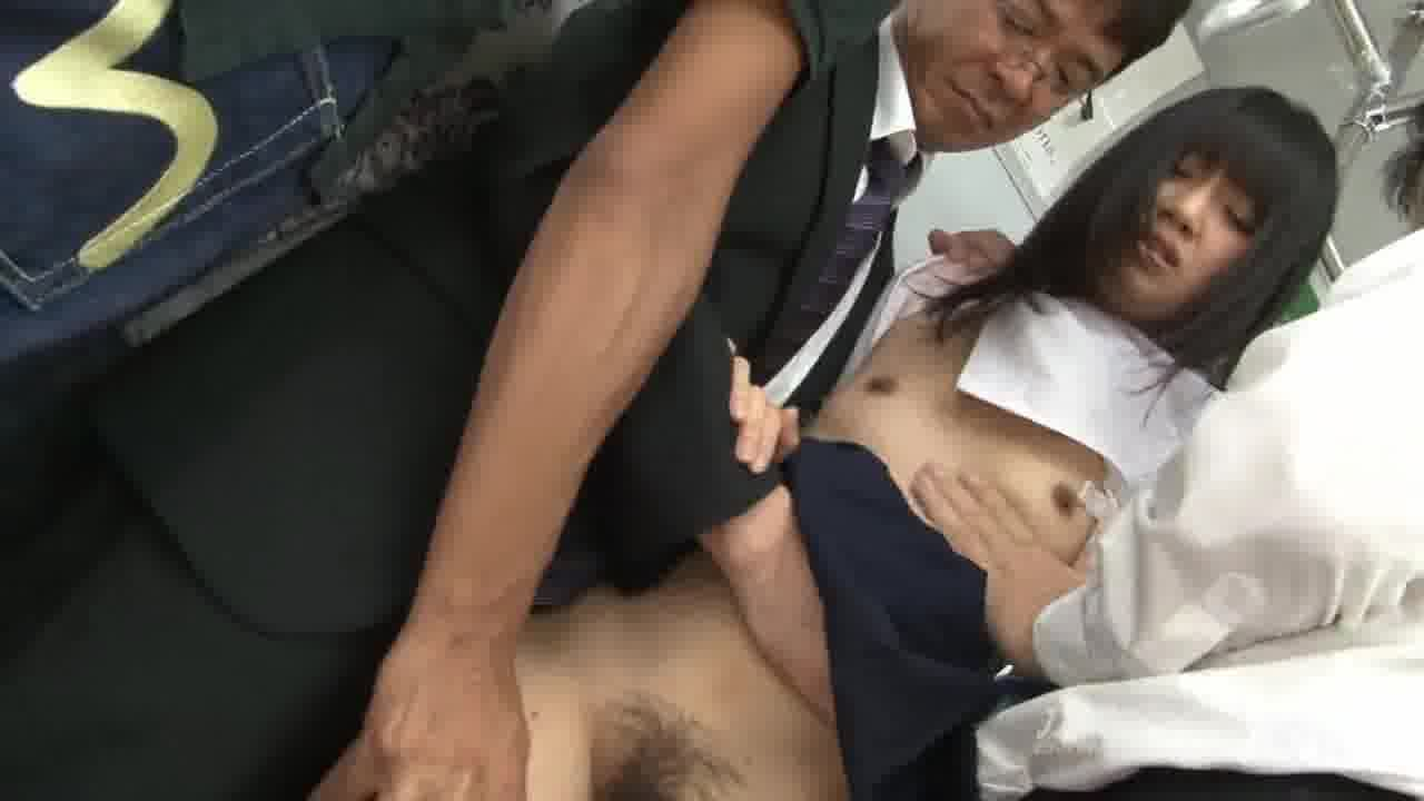 痴漢電車 - 朝倉ことみ【制服・痴漢・中出し】