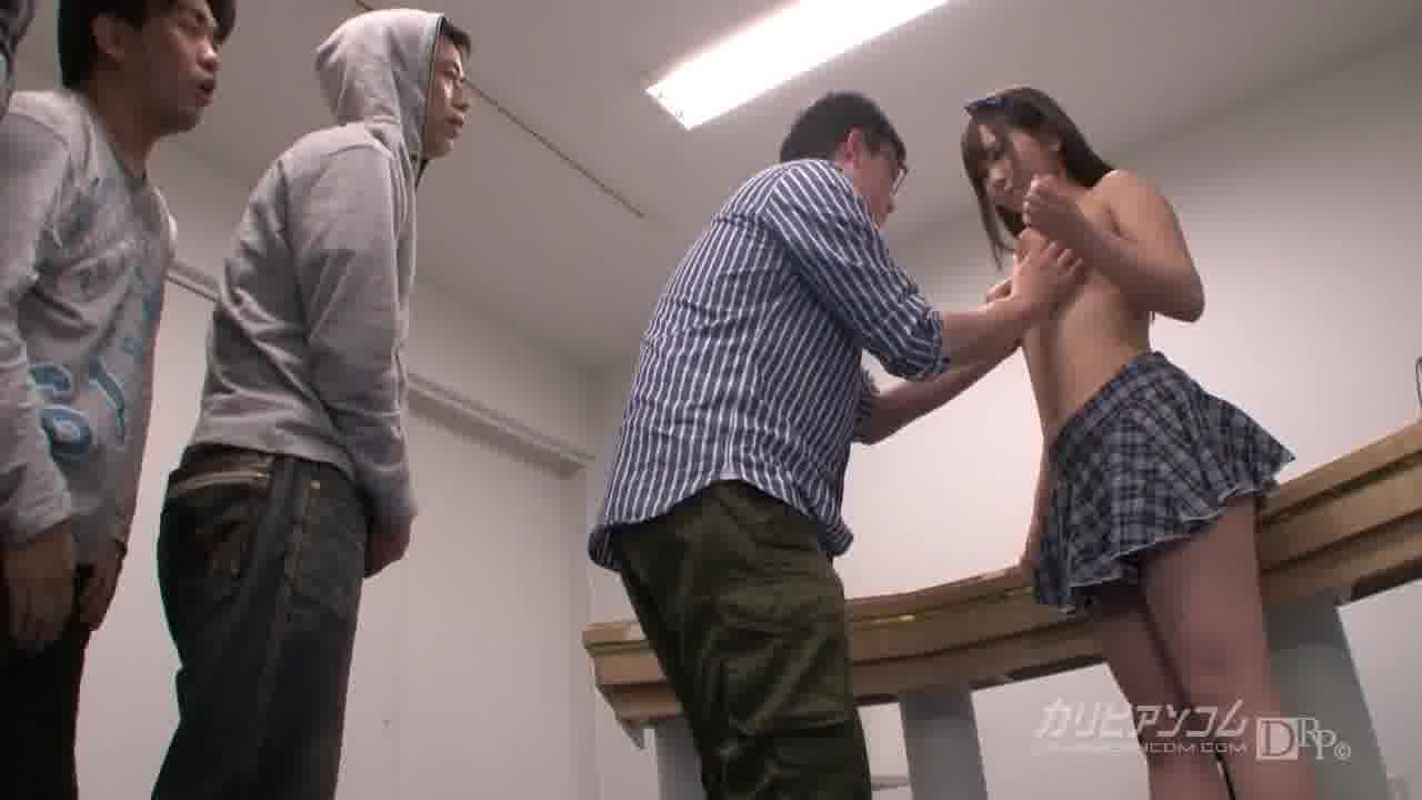 CRB48 モザイク、イラネ ~おっぱい買収~ - 美緒みくる【コスプレ・パイズリ・中出し】