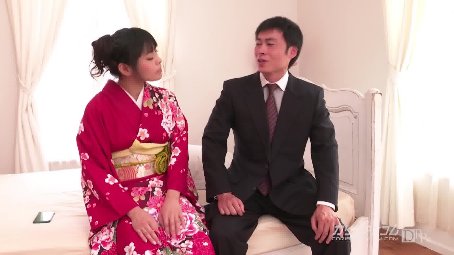 シェアガール ~新年豪華に振袖4Pファック~ - 杏【潮吹き・浴衣・3P】