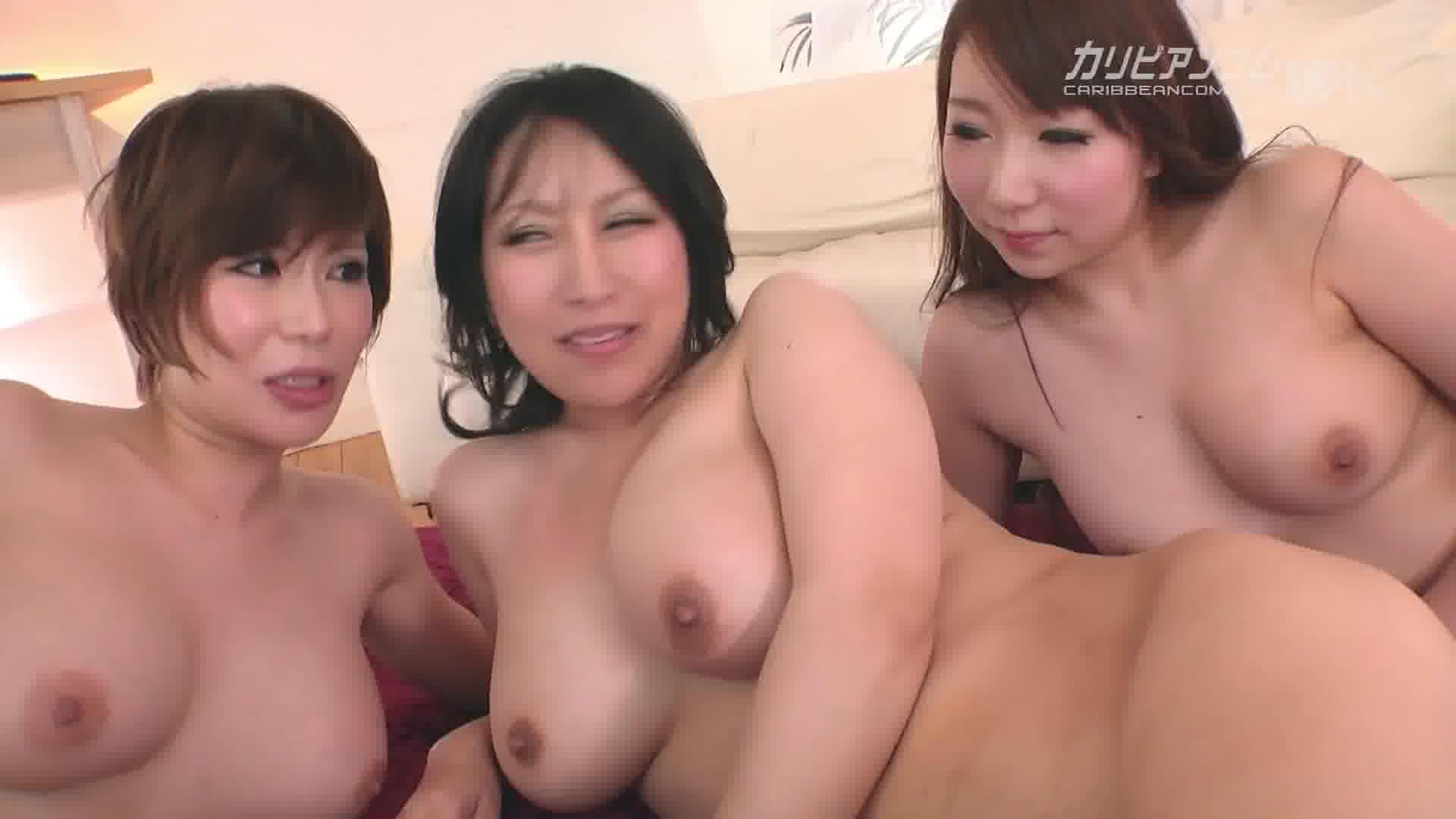 巨乳で痴女で絶品ボディの女たち Vol.9 - あやなれい【乱交・巨乳・パイズリ】