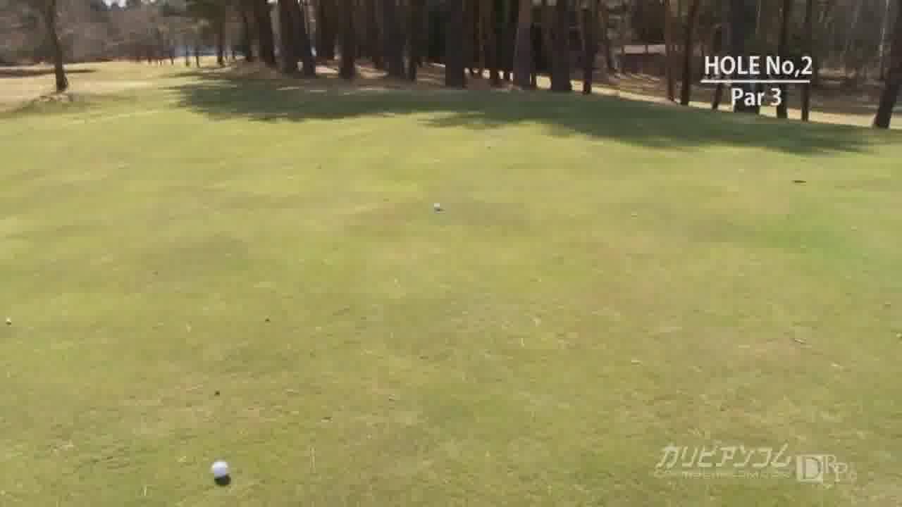 カリビアン レディースゴルフカップ 2 - 国見奈々【野外露出・3P・企画物】