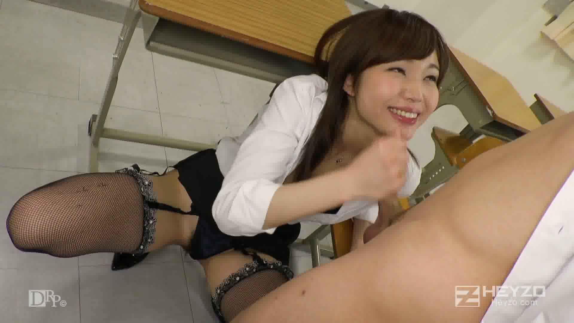 美痴女~ヤリマン先生がイク!~ - 碧しの【アナル舐め クンニ 顔騎】