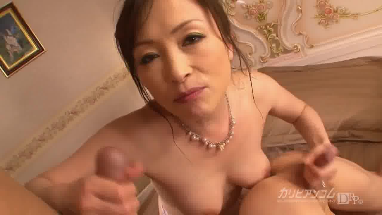 極上セレブ婦人 Vol.4 後編 - 美山蘭子【痴女・パイズリ・中出し】