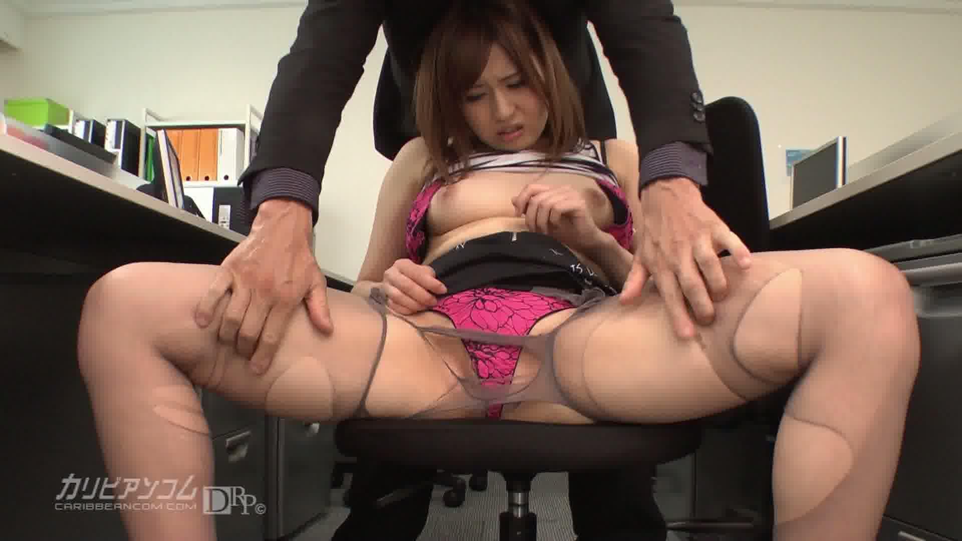 オフィスでパワハラ中出しセックス - 前田由美【美乳・中出し・口内発射】