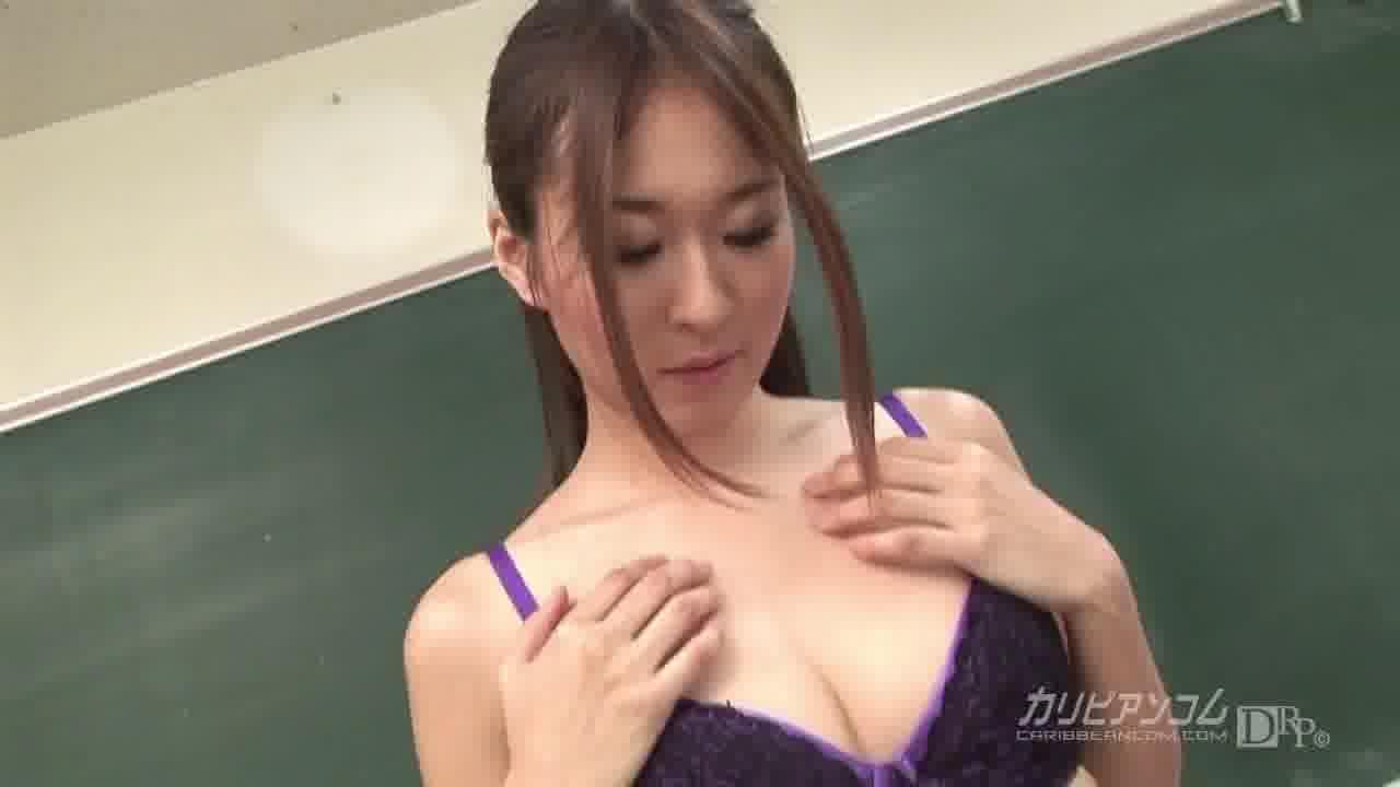 最後までリサを見て! - 岬リサ【コスプレ・3P・女教師】