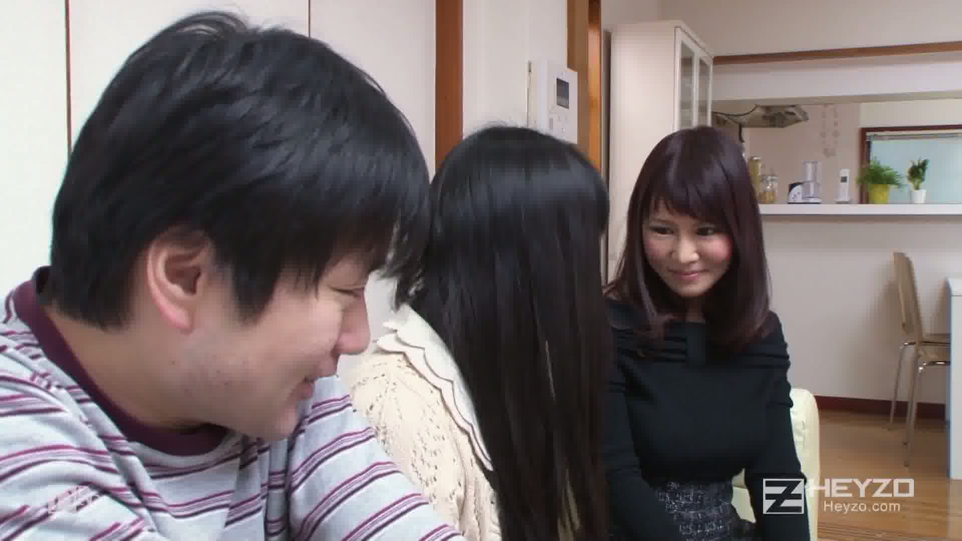 姉貴の爆乳女友達とルームシェア!~卑猥な共同生活~ - 木ノ花あみる【キス フェラ】