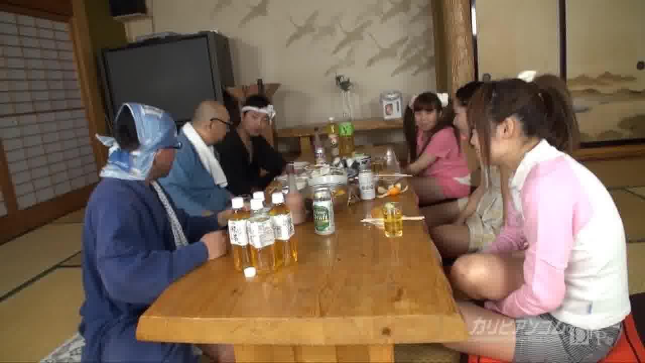 農☆ロリ乱交 - 花野マリア【乱交・痴女・野外露出】
