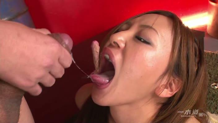 どスケベ淫乱美女の白濁3P【倉木みお】