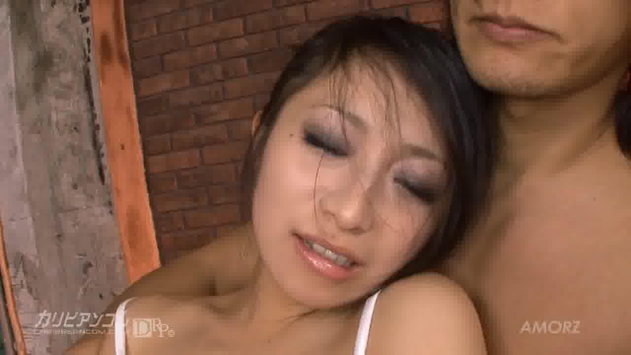 拘束されたFカップ - 国見奈々【巨乳・顔射・中出し】