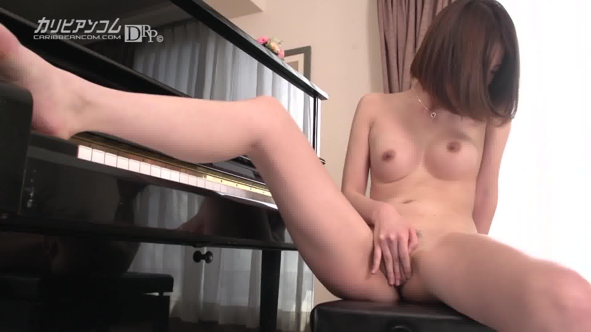 元ピアノ教師のト音記号をくぱぁ - 綾瀬なるみ【オナニー・バイブ・ぶっかけ】