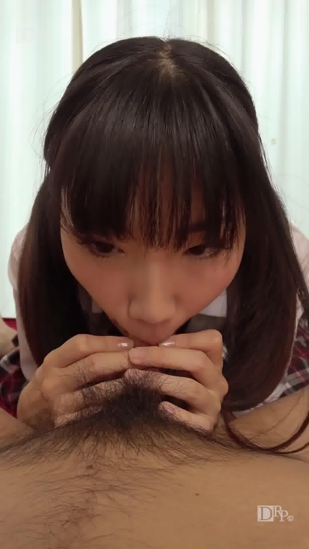縦型動画 040 ~亀頭にキスする可愛いフェラ~ - 今村加奈子【美乳・手コキ・フェラ】