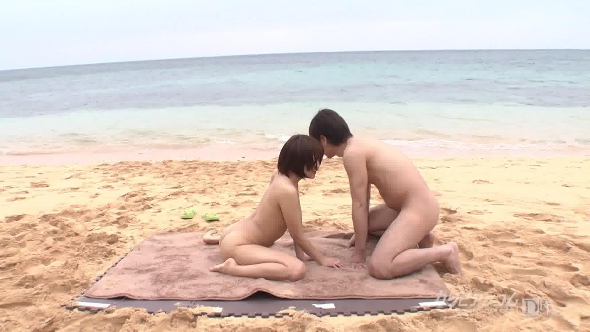 Sex on the Beach Saya - 立花さや【野外露出・潮吹き・中出し】