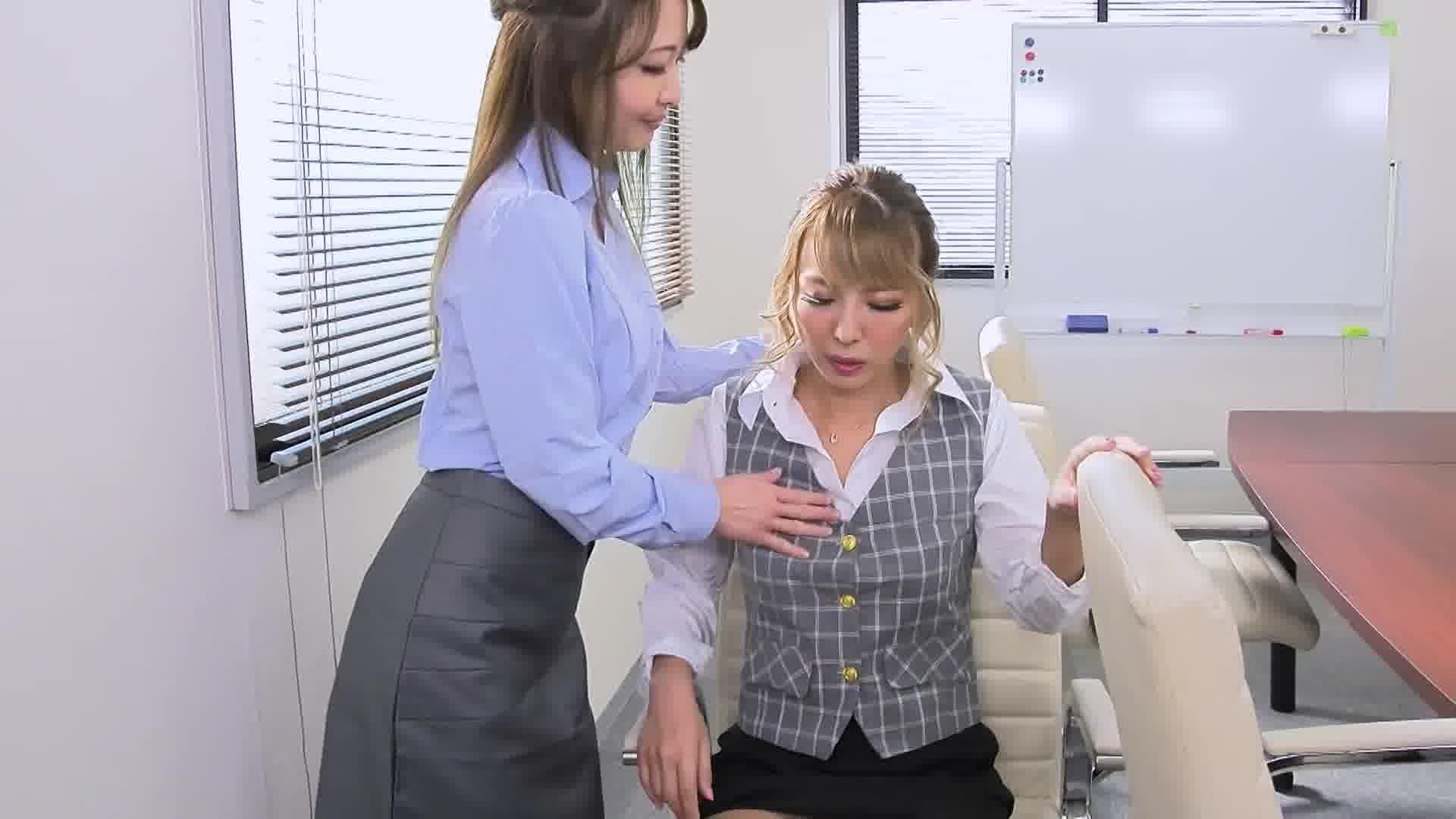オフィスラバーズ ~ビアン上司の飴とムチムチ~ - ルナ【OL・乱交・ギャル】