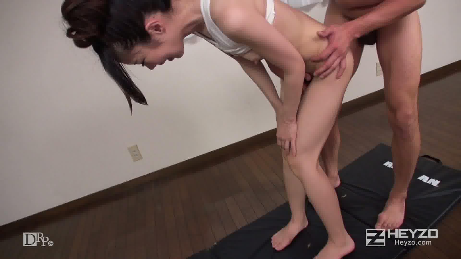 セックスで痩せる!?パコパコダイエット法!! - 黒羽みり【正常位 座位 騎乗位 立ちバック 側位 中だし】