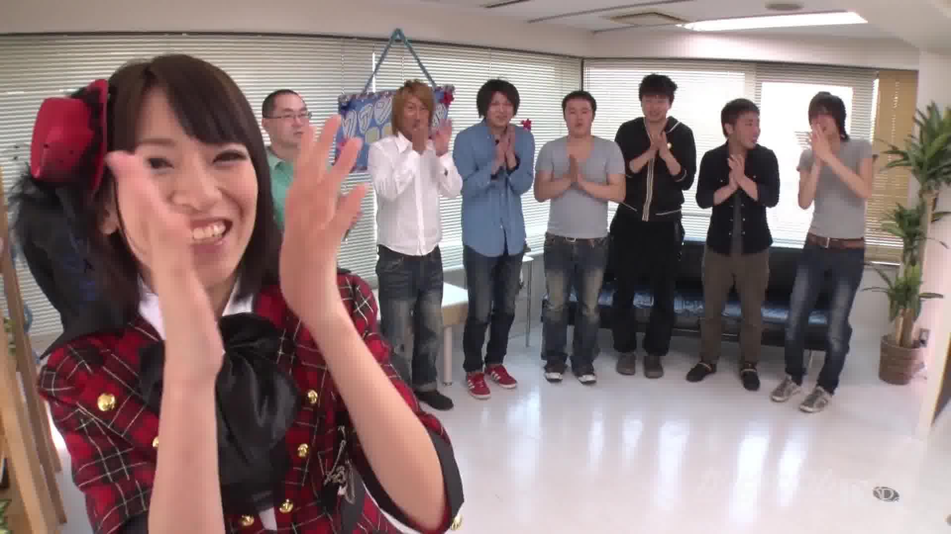 CRB48 ~後しか向かねえ感謝デー~ - 成宮ルリ【コスプレ・乱交・アイドル】