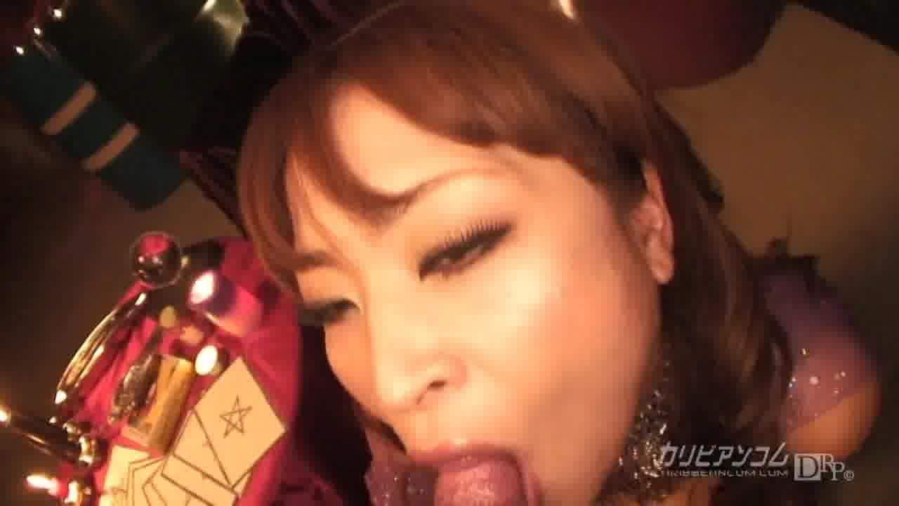 淫乱占い師の妖艶フェラ - 若林ひかる【痴女・巨乳・潮吹き】
