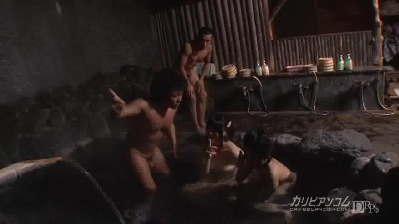 AV撮影の打ち上げ大乱交 - 真中陶子【乱交・巨乳・中出し】