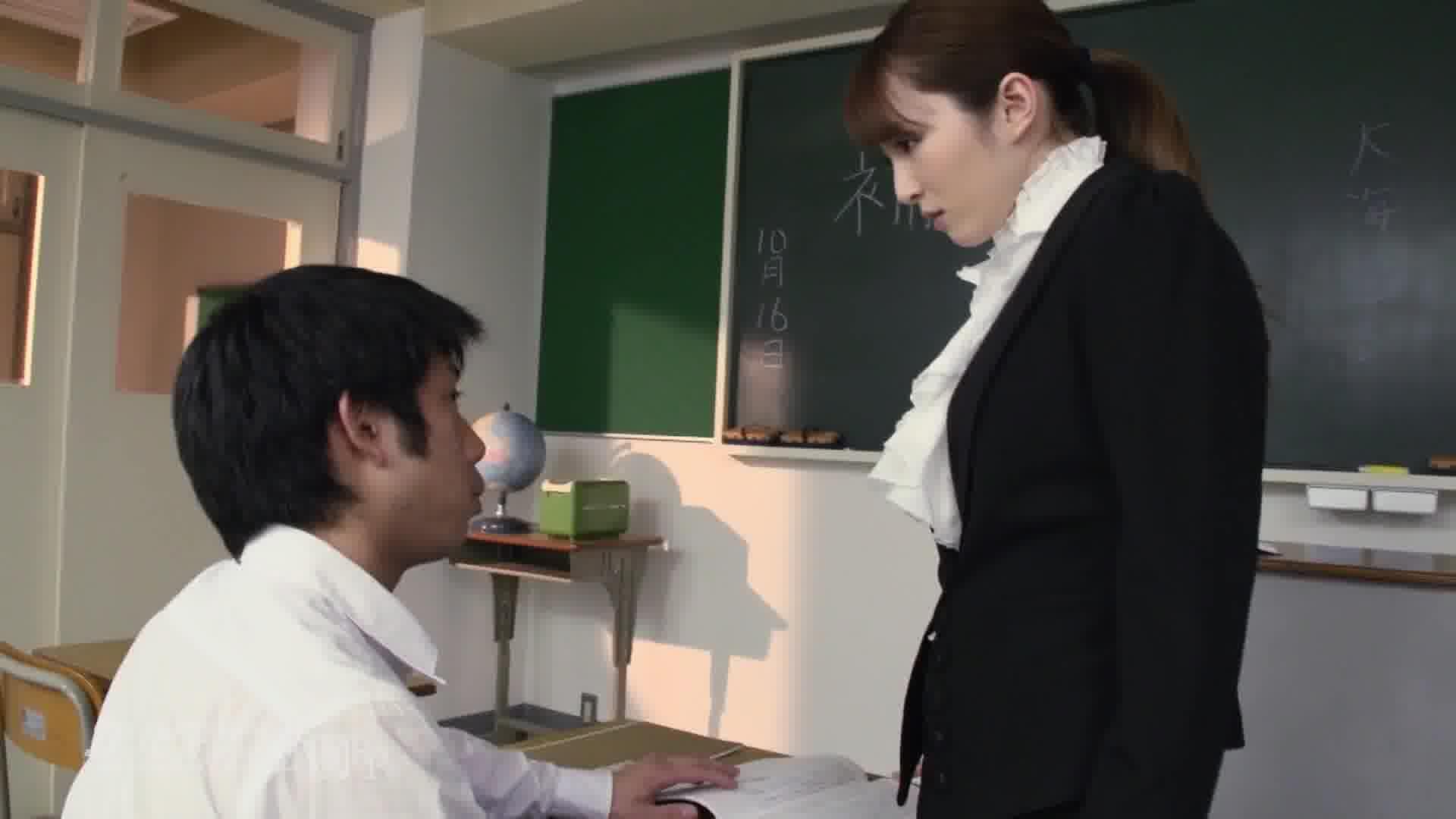 慟哭の女教師 前編 ~だらしなく砕け散るプライド~ - 大橋未久【女教師・ハード系・中出し】