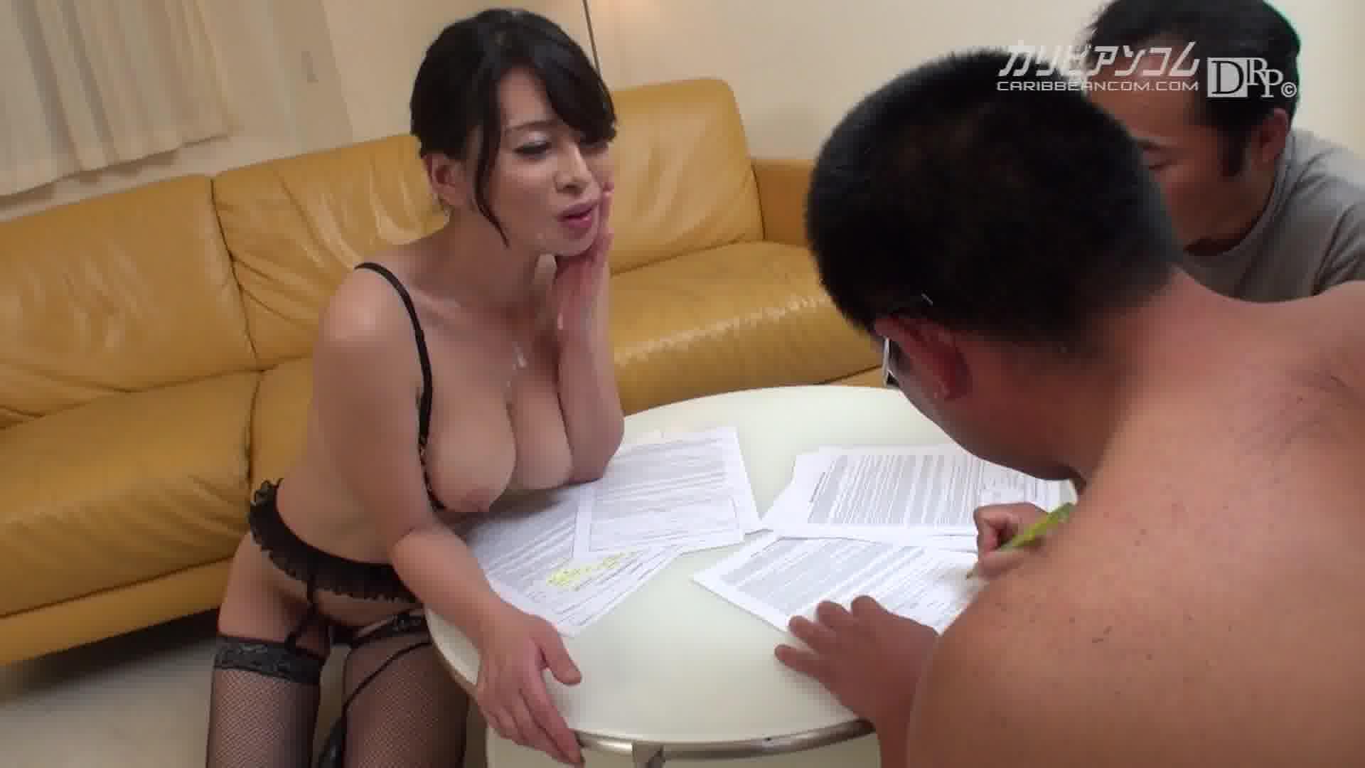 好色妻降臨 50 パート 2 - 北島玲【巨乳・OL・ぶっかけ】
