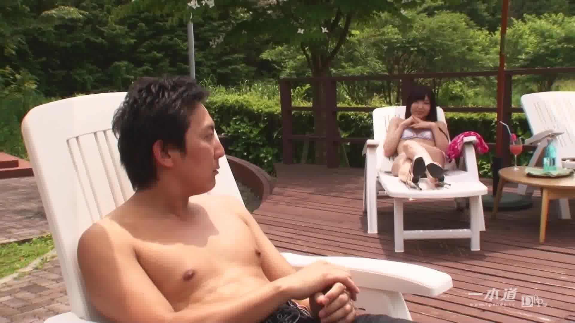サマーヌード ~夏だしイィじゃん!プールでH!~ - 碧しの【水着・スレンダー・中出し】