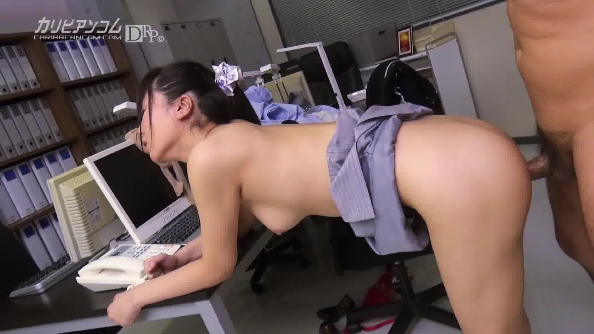 OLの尻に埋もれたい Vol.6 - 尾嶋みゆき【パイパン・潮吹き・スレンダー】