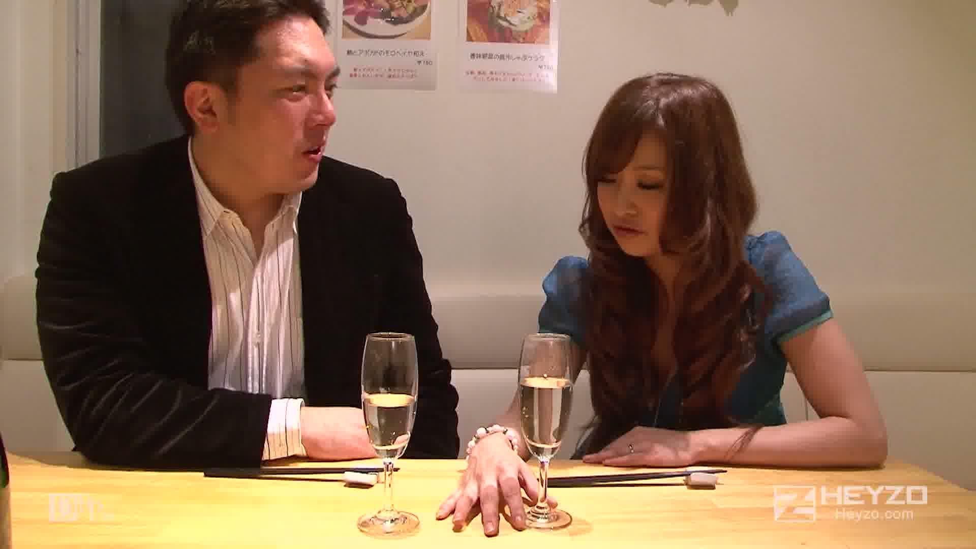 爆乳若妻とのパコパコ結婚記念日~あの頃きみはギャルだった~ - 青山ゆい【回想 ベロチュー 指マン】