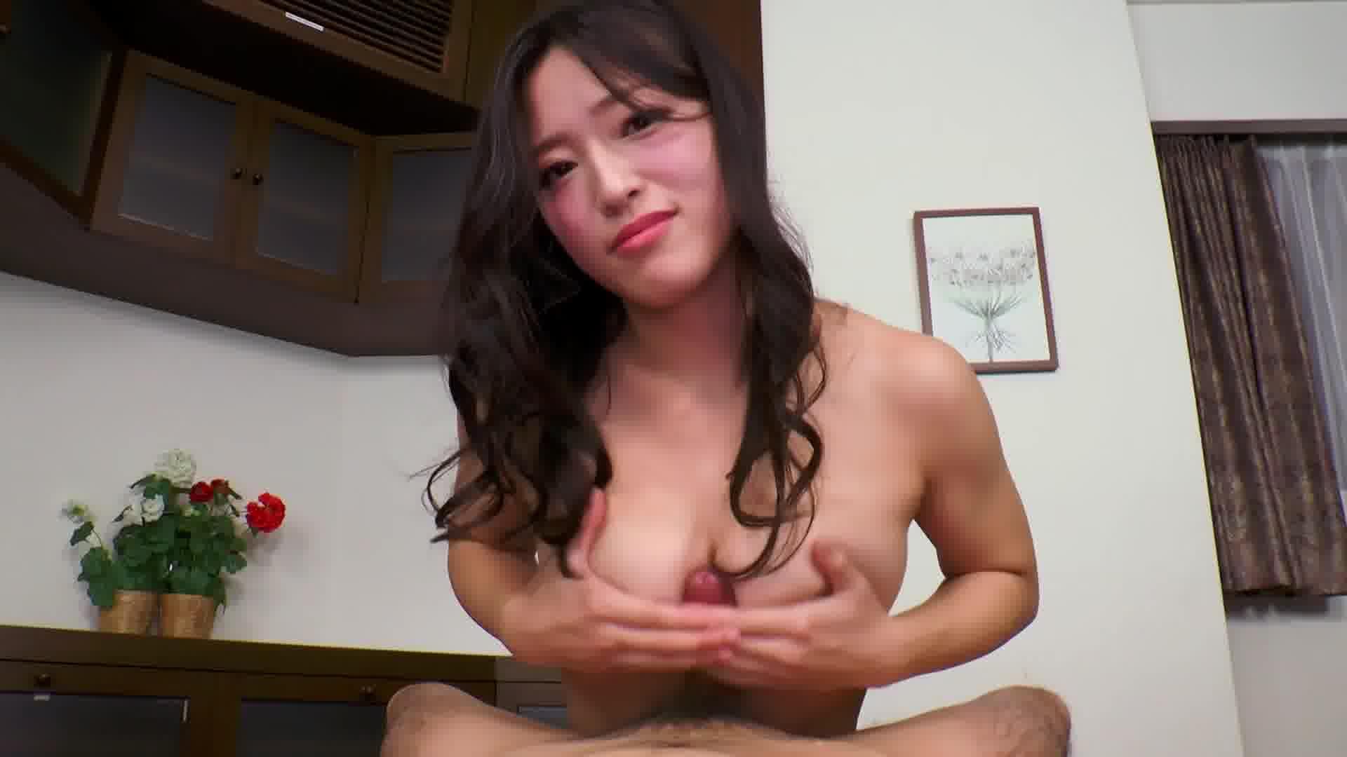 THE 未公開 〜パイずりコキコキ天国〜 - 日高千晶【巨乳・パイズリ・手コキ】