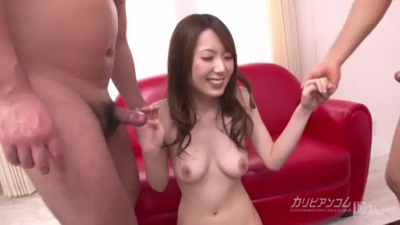 欲しがり波多野結衣 後編 - 波多野結衣【痴女・スレンダー・3P】