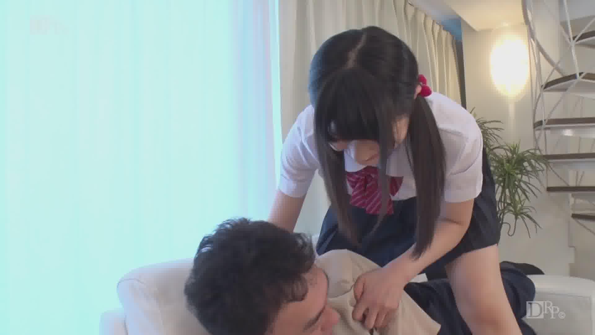 おじさんとお留守番 - 椎名ゆうき【美乳・制服・中出し】