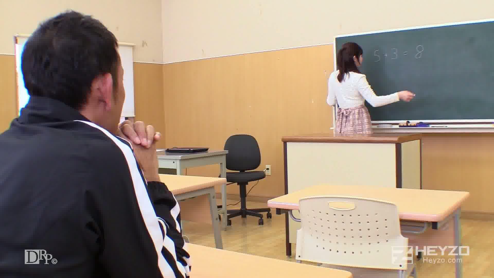 涼花先生が何でも教えてアゲル! - 桜井涼花【授業風景 オナニー 】